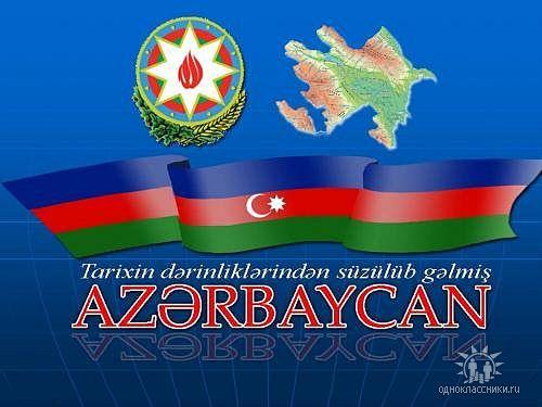 азербайджан флаг и герб